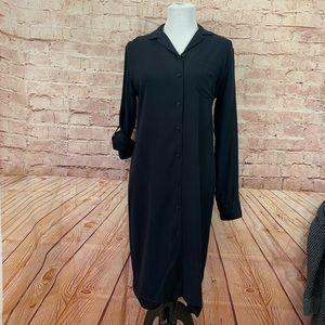 Ralph Lauren silk shirt dress